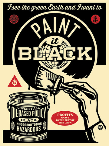 Paint It Black - Brush