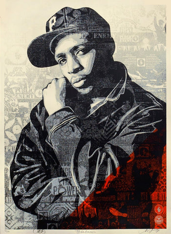 Chuck D Black Steel - Red
