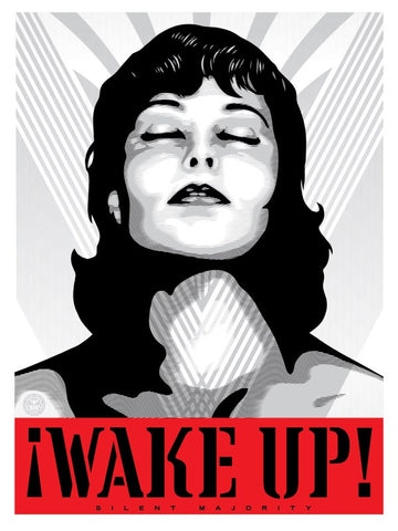 Wake Up! - White