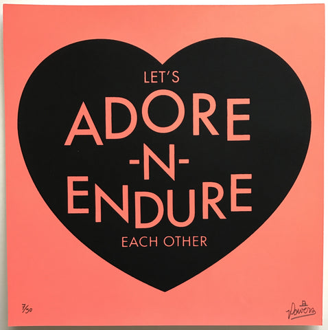 Adore and Endure - Coral
