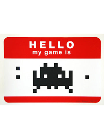 Hello My Game Is - Red