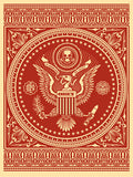 Presidential Seal - Red