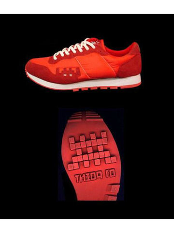 Invader Shoes - Red
