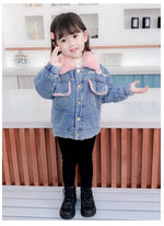 Warm Padded Denim Jacket