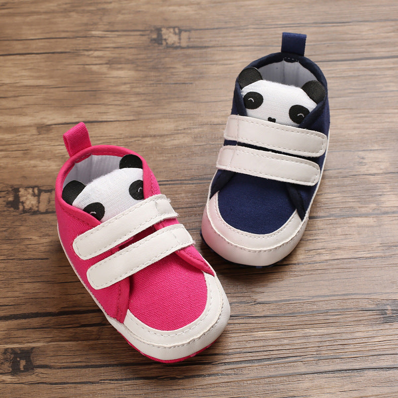 Cute Panda Strap Shoes