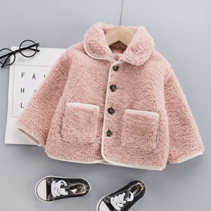 Long Sleeves Woolen Warm Coat