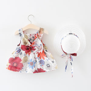 Big Floral 2 Piece Summer Outfit