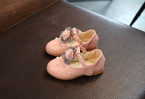 3D Floral Fancy Shoes for Girls