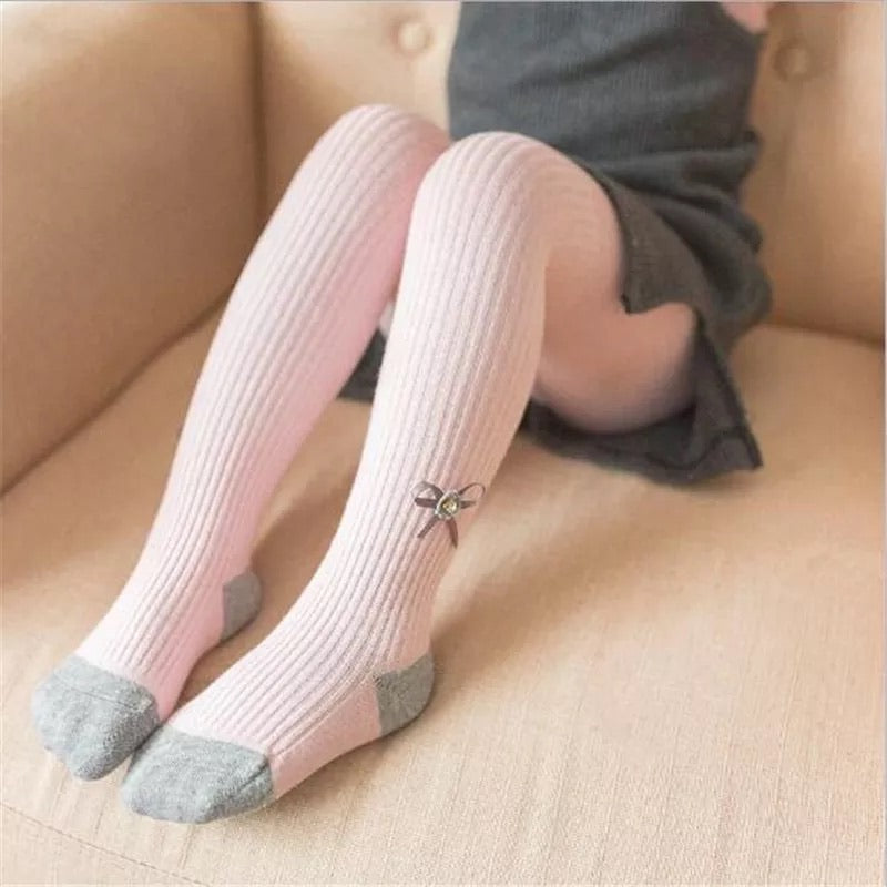 Stylish Bowknot Warm Leggings