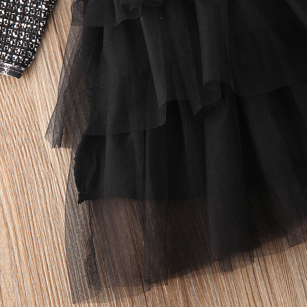 Long Sleeves Classic Tutu Dress for Baby Girls