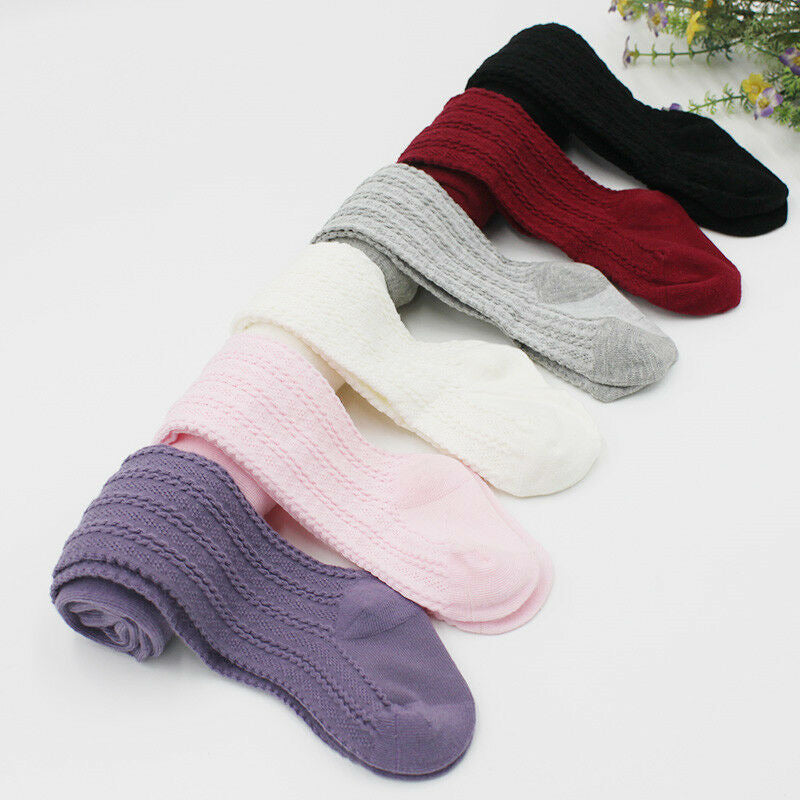 Stretchable warm knitted leggings