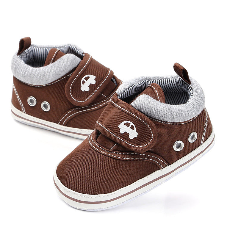 Prewalkers Denim Sneakers for Baby Boys