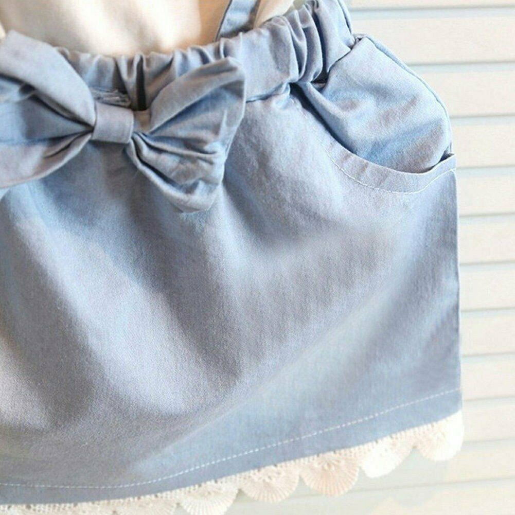 2 Piece Tulle Bowknot Skirt and Top
