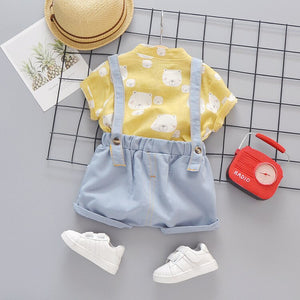 Basic Summer 3 Pieces Outfit
