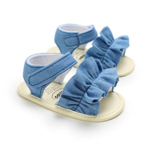 Denim Windy Sandals for Summers