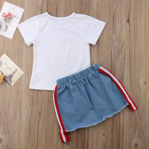 Cool 2 Pieces Summer Shirt and Shorts