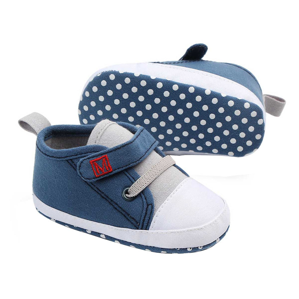 Trendy Canvas Sneaker for Baby Boys