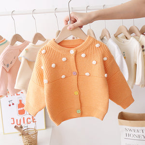 Trendy Plush Balls Winter Sweater