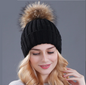 Images for Pom Pom Knitted Hat by 1949 Boutique