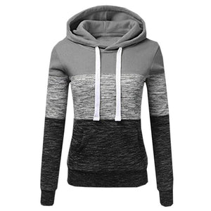Images for Patchwork Pullover Hoodie by 1949 Boutique