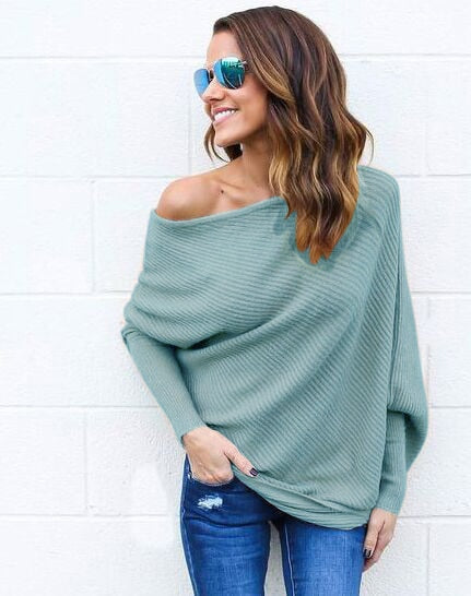 Images for Off Shoulder Knitted Sweater by 1949 Boutique
