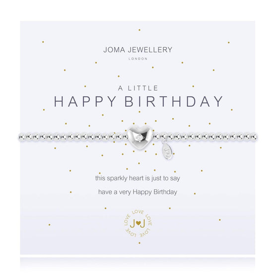 Joma Happy Birthday Bracelet