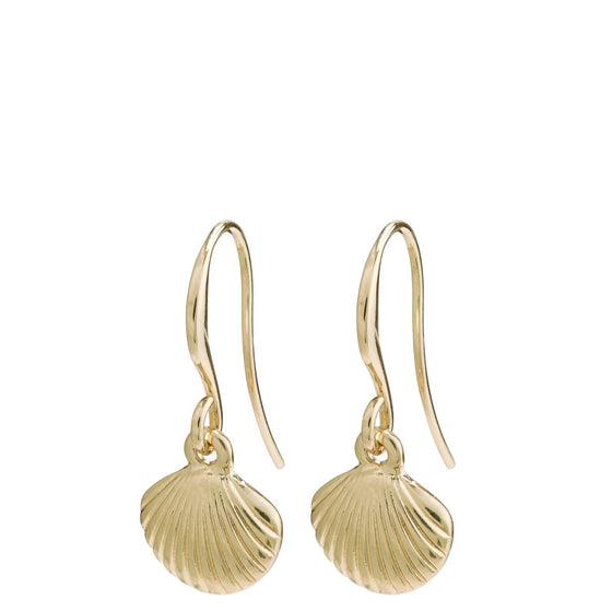 Pilgrim Love Gold Earrings