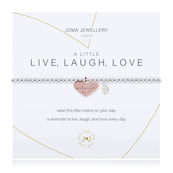 Joma Live Laugh Love Bracelet