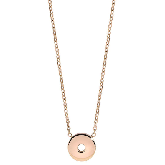 Qudo Sezze Rose Gold Necklace
