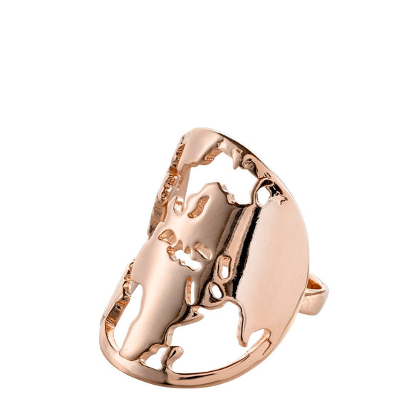 Pilgrim Jada Rose Gold Ring