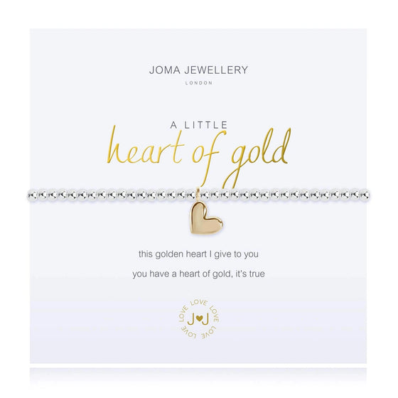 Joma Heart of Gold Bracelet