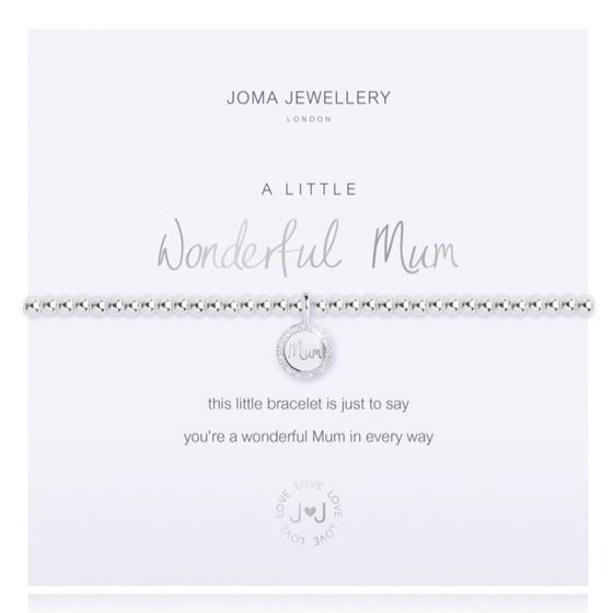 Joma Wonderful Mum Bracelet