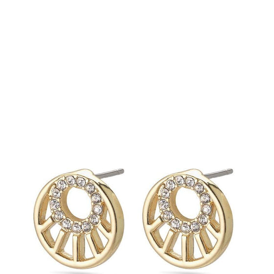 Pilgrim Cassie Gold Stud Earrings