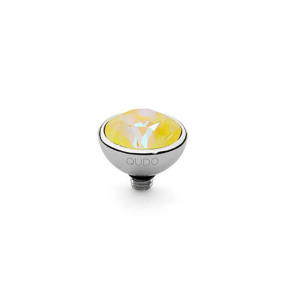 Qudo Bottone 10mm Silver Topper - Sunshine Delite