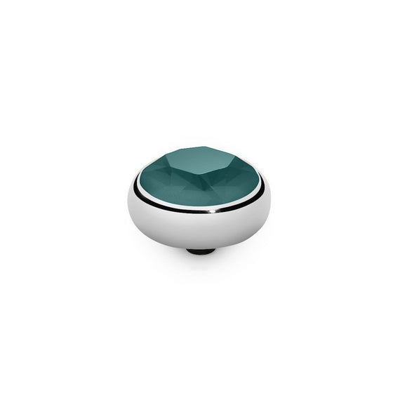 Qudo Sesto 10mm Silver Topper - Royal Green