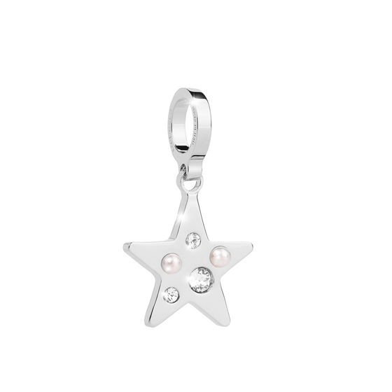 Rebecca My World Silver Star Charm
