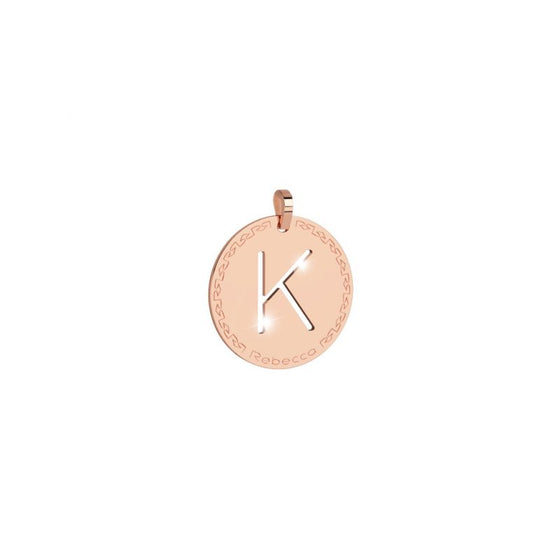 Rebecca My World Large Rose Gold K Charm