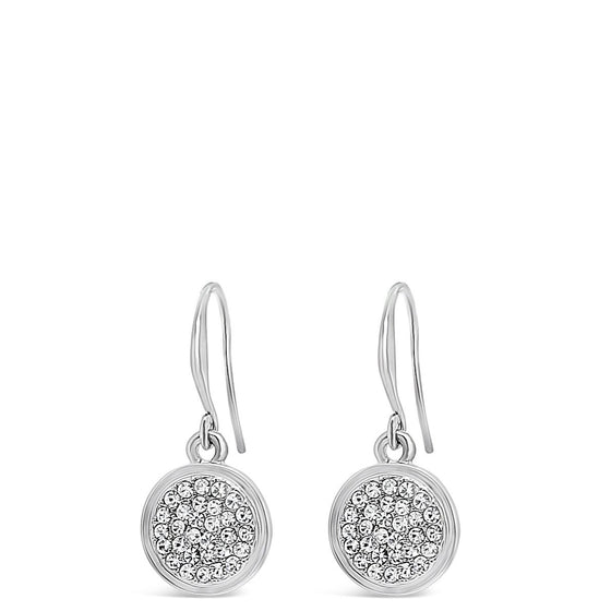 Absolute Silver Drop Earrings E1046SL