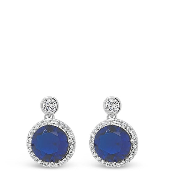 Absolute Blue Small Drop Earrings