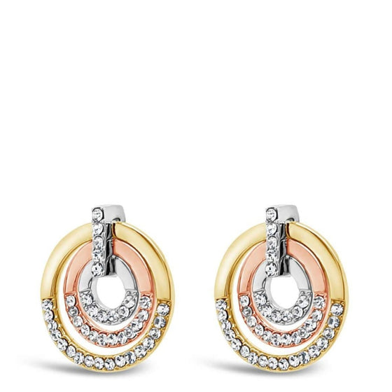 Absolute 3-tone earrings