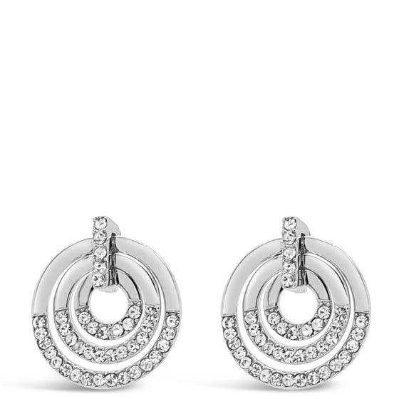 Absolute Silver Multi Circle Earrings