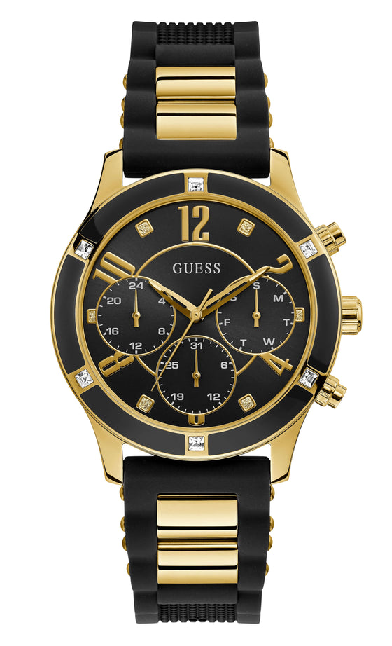 Guess Breeze Gold and Black Watch