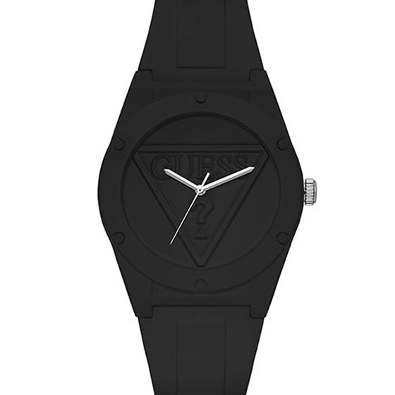 Guess Black Silicone Street Watch