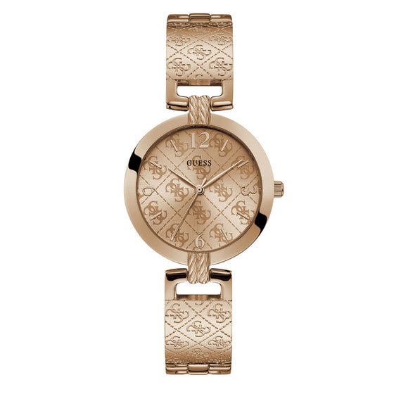 Guess G Luxe Rose Gold Watch