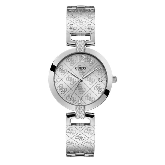 Guess G Luxe Silver Watch