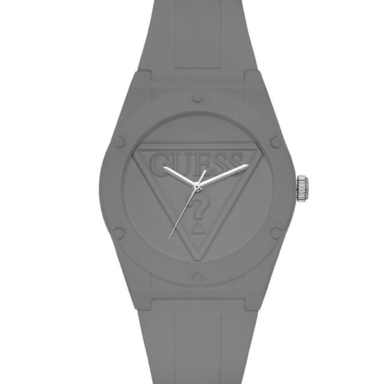 Guess Grey Silicone Street Watch