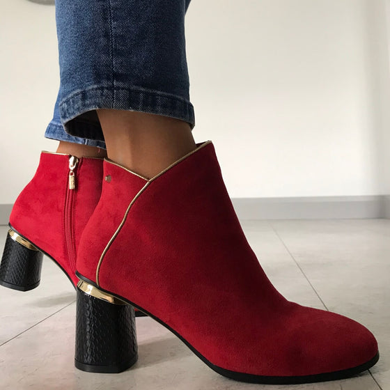 Kate Appleby Keiss Boots - Red