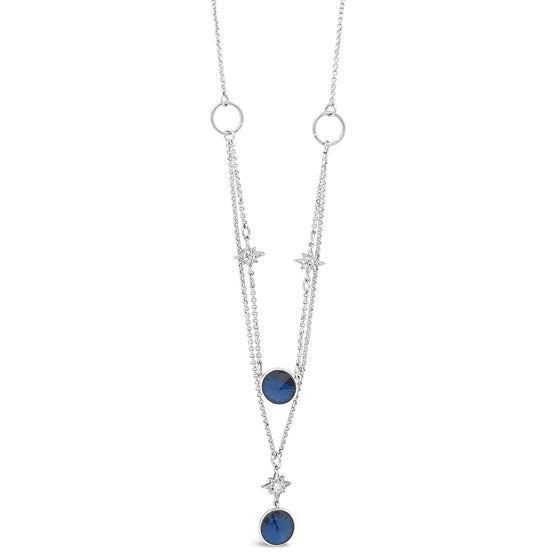 Absolute Midnight Blue Star Necklace N2021MB