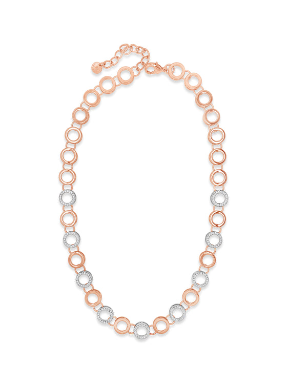 Absolute Rose Gold & Silver Necklace