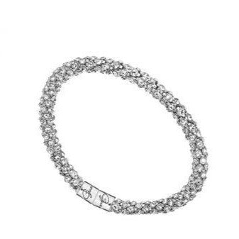 Guess Glamazon Silver Bangle